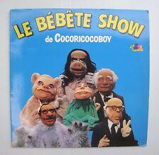 Disque vinyle 33T Le bébête show de Cocoricocoboy TF1 - très bon état