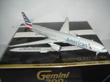 "Gemini Jets 200 American Airlines AA B777-300ER 2010s New Color"" 1:200 DIECAST"