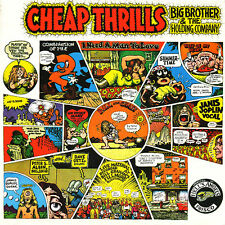 "Janis Joplin w/ Big Brother ""Cheap Thrills"" - NEW SEALED Columbia LP R Crumb art"