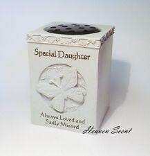 Grave Memorial For Daughter Flower Vase Pots Rose Bowl Ornament Funeral Tribute