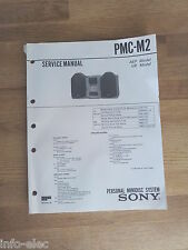 Schema SONY - Service Manual Personal Minidisc System PMC-M2 PMCM2