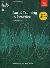 ABRSM Aural Training in Practice Grades 4-5 Book 2 - Same Day 1st Class P+P