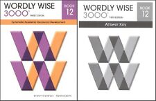 Wordly Wise 3000 Grade 12 SET -- Student and Key NEW  *3rd edition*
