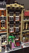 Lego Custom Modular Building. Brown Town House. Like 10182 and 10190
