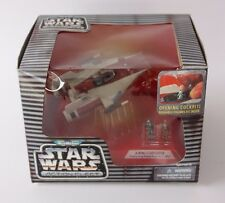 Star Wars Micro Machines Action Fleet A-Wing Starfighter Red C-3PO & Rebel Pilot