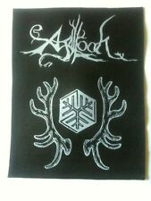 AGALLOCH patch 11 x 14 cm woven sew on toppa fleck parche buy 3 get 4