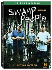 Swamp People: Season 7 DVD New Complete Seventh Season Seven Ships Worldwide