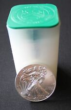 Roll of 2012 Silver American Eagle Coins Uncirculated- 20 Coins