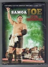Ring of Honor - Samoa Joe - Total Domination - 2 Disc Set