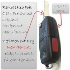 VW Keyless Remote NBG92596263 2002 2003 2004 2005 replacement transmitter keyfob