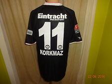 "Eintracht Frankfurt Jako Matchworn Trikot 08/09 ""Fraport"" + Nr.11 Korkmaz Gr.L"