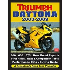Triumph Daytona 2003-2009 Road Test Portfolio book paper