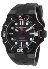 Swiss Legend Abyssos Automatic Black Silicone SL-10062A-BB-01-BLK-SM-RDB
