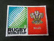 New Rugby World Cup 2015 Badge - Sew on Patch - Wales 10cm x 7.5cm