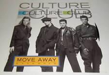 """CULTURE CLUB - MOVE AWAY - ORIGINAL 1986 UK 12"""" VINYL SINGLE RECORD"""