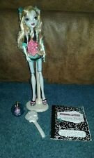 Monster High 1st First Wave Lagoona Blue Doll, Complete with Book, Pet Neptune