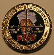 Osama Bin Laden Seal Team Six / 6 September 9-11 Navy Military Challenge Coin rd