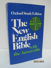 The New English Bible With the Apocrypha, Oxford Study Edition