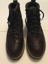 Georgia Giant Boots G6374 Brown Leather size 11 M Men's Work Safety Steel Toe
