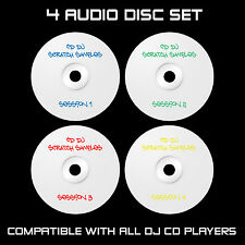 Cd Dj Scratch muestras - 4 Audio Disc Set: Cdj: Traktor, Serato: Dvs