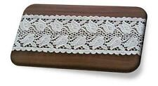 Organic Cotton Lace, 68mm, Natural