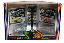 2003 Hot Wheels Hall of Fame  Snake vs Mongoose Plymouth Barracuda & Duster