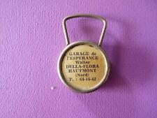 PORTE-CLES 1960-70 GARAGE L'ESPERANCE WALTER DELLA-FLORA HAUMONT 59 PORTE-CLEFS