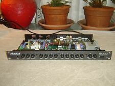 Marshall 9001, 2 Channel Tube Guitar Preamp, Equalizer, Vintage Rack, for Repair