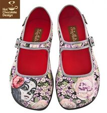 Hot Chocolates Shoes, Flora Muerta Us Adult 6