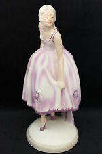 PERFECT Art Deco figurine Goldscheider Wien Gabby Josef Lorenzl 1935 figure