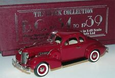Brooklin BC 021, 1938 Buick Special Sport Coupe M-46s, Titian maroon, 1/43