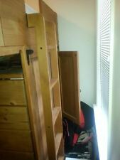 Wooden Bump Bed and T.V.