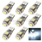 10x W5W 194 168 Canbus Error Free White T10 5 SMD 5050 Interior LED Light bulbs