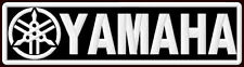 "YAMAHA EMBROIDERED PATCH ~5-1/2""x 1-1/2"" MOTORCYCLE V MAX R1 TDM R6 ROADLINER FJ"