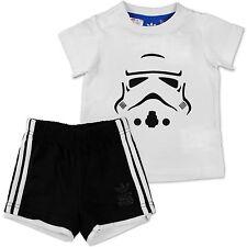Adidas Star Wars estrella muerte Yoda traje set bebé niño pequeño chico pantalones + camisa 68
