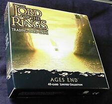 LOTR CCG TCG AGES END 40 card FOIL Boxed Set