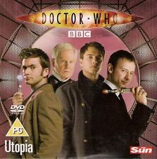 DOCTOR WHO  UTOPIA  single episode promotional DVD from THE SUN