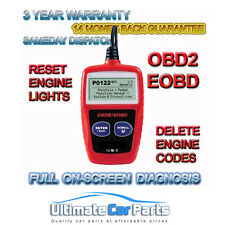 CAR FAULT CODE READER ENGINE SCANNER DIAGNOSTIC RESET TOOL OBD 2 CAN BUS EOBD
