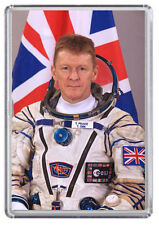 Tim Peake Astronaut International Space Station Fridge Magnet 01