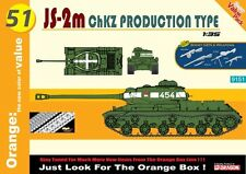 1/35 Soviet JS-2m ChZK Production Type * NEW * CyberHobby (Orange) #9151