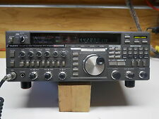 Yaesu FT-736R VHF/UHF/SAT Transceiver in fair shape in the boxl