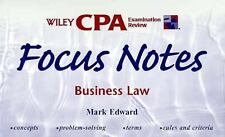 Wiley CPA Examination Review Focus Notes, Business Law (CPA Examinatio-ExLibrary
