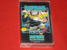 Caped Crusader-Vintage Batman el Commodore 64/128 Juego-Ocean 1988-Buen Funcionamiento