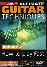 LICK LIBRARY ULTIMATE GUITAR TECHNIQUES HOW TO PLAY FAST Learn Sliding DVD 2