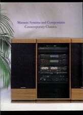 Rare Vintage Marantz Contemporary Classics Audio Systems Dealer Brochure Catalog