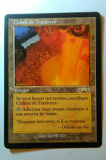 City of Traitors 1x MTG Exodus NM Portuguese text