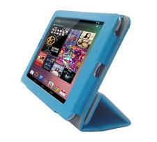 for Google Nexus 7 Tablet 1st Gen PU Leather Folio Skin Cover Case, Deep S. Blue