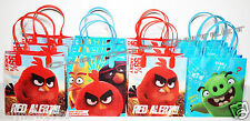 12 PCS ANGRY BIRDS PARTY FAVORS GIFT BAGS GOODY CANDY BAGS ROVIO NEW MOVIE 2016