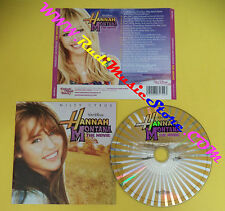 CD SOUNDTRACK Miley Cyrus Hannah Montana The Movie 50999 6 96174 2 3 no lp(OST4)