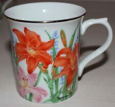 The Lenox Flower Blossom Mug Collection by Suzanne Clee DAY LILY